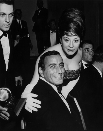 With Tony Bennet, 1964