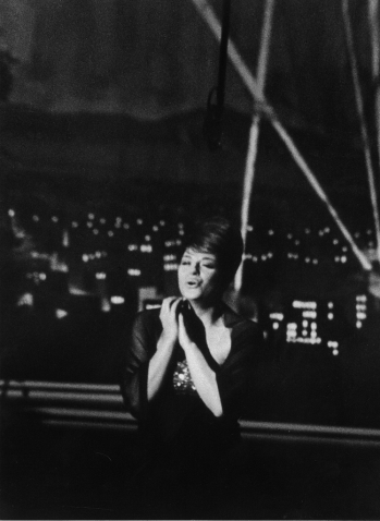 "Oscar ceremony, Katyna singing ""More"", Hollywood 1964"