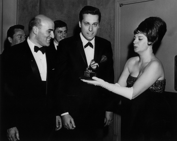 With Jack Jones, Hollywood 1964