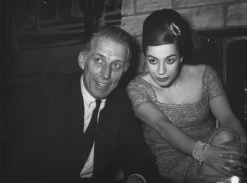 Con Stan Kenton, Hollywwood, 1961.